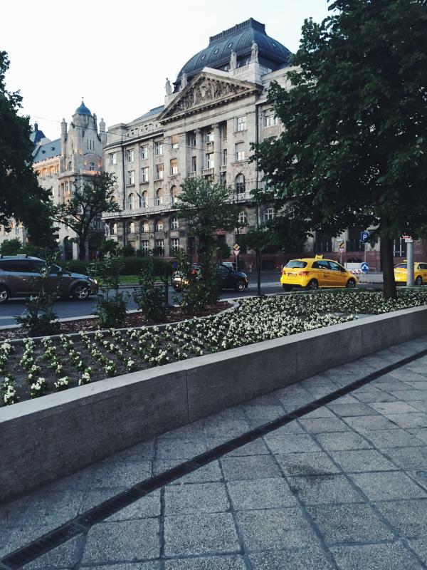 Budapest med sin vackra arkitektur.