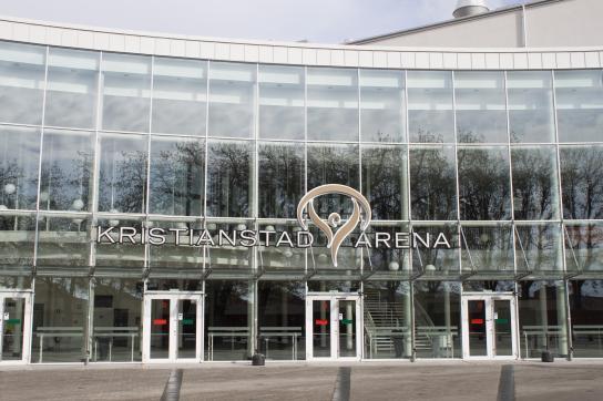 Kristianstad Arena som är hemarena för elitserielaget i handboll.