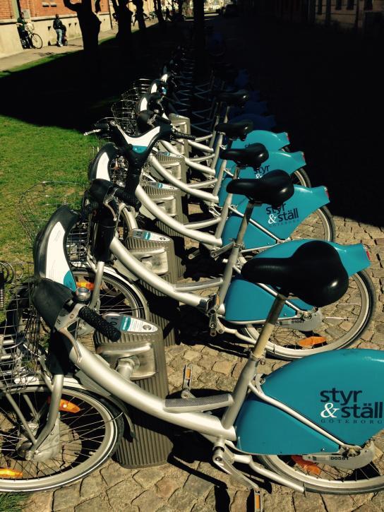 Låna en cykel i Göteborg - Fler borde cykla!