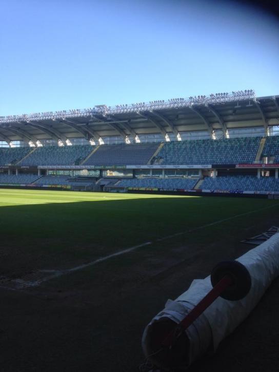 Inne på gamla Ullevi, IFK Göteborgs hemmaplan i fotboll.